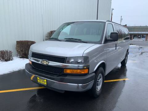 2012 Chevrolet Express Passenger for sale at DAVENPORT MOTOR COMPANY in Davenport WA
