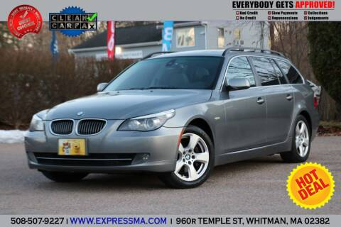 2008 BMW 5 Series for sale at Auto Sales Express in Whitman MA