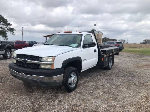 2004 Chevrolet Silverado 3500 for sale at COUNTRY AUTO SALES in Hempstead TX