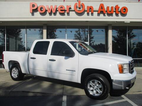 2012 GMC Sierra 1500 for sale at Power On Auto LLC in Monroe NC