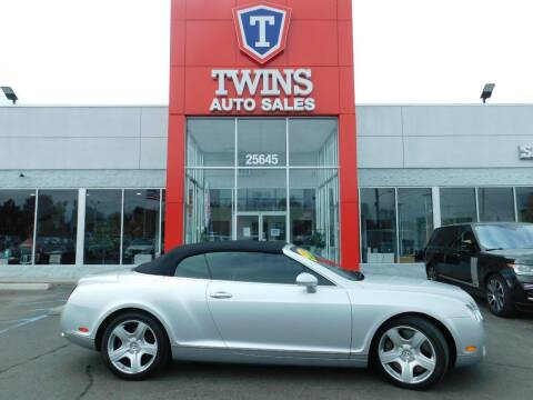 2007 Bentley Continental for sale at Twins Auto Sales Inc Redford 1 in Redford MI