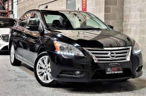 2013 Nissan Sentra for sale at Haus of Imports in Lemont IL