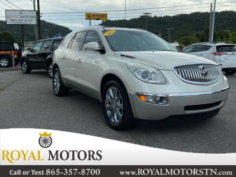 2011 Buick Enclave for sale at ROYAL MOTORS LLC in Knoxville TN
