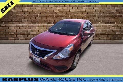2017 Nissan Versa for sale at Karplus Warehouse in Pacoima CA