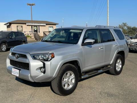 2016 Toyota 4Runner for sale at Deruelle's Auto Sales in Shingle Springs CA