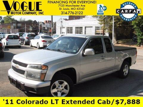 2011 Chevrolet Colorado for sale at Vogue Motor Company Inc in Saint Louis MO