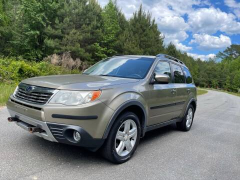 2009 Subaru Forester for sale at Carrera AutoHaus Inc in Clayton NC