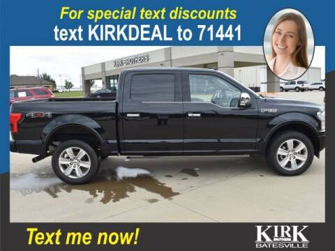 2020 Ford F-150 for sale at Kirk Brothers Batesville in Batesville MS