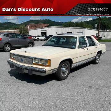 1990 Ford LTD Crown Victoria for sale at Dan's Discount Auto in Gaston SC