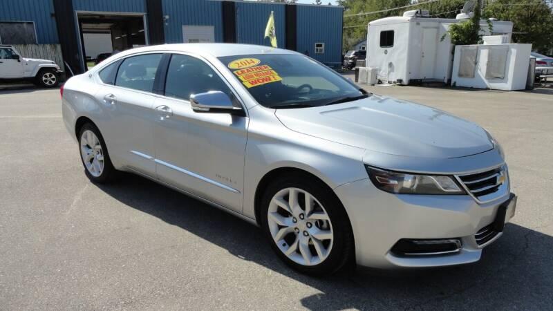 2014 Chevrolet Impala for sale at CENTER AVENUE AUTO SALES in Brodhead WI