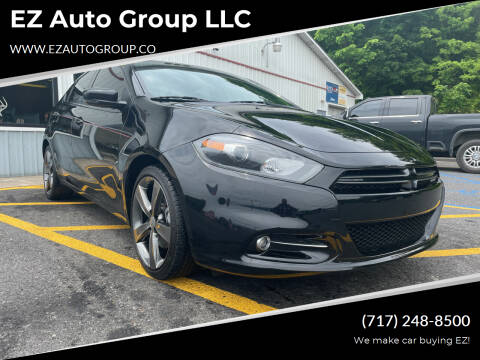 2015 Dodge Dart for sale at EZ Auto Group LLC in Lewistown PA