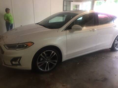 2020 Ford Fusion for sale at C H BURNS MOTORS INC in Baldwyn MS
