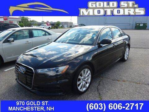 2015 Audi A6 for sale at Gold St. Motors in Manchester NH