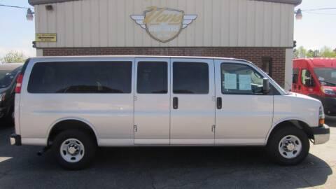 2011 Chevrolet Express Passenger for sale at Vans Of Great Bridge in Chesapeake VA