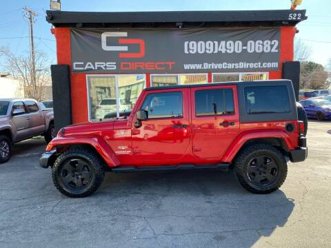 2012 Jeep Wrangler Unlimited for sale at Cars Direct in Ontario CA
