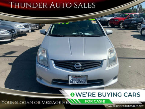 2011 Nissan Sentra for sale at Thunder Auto Sales in Sacramento CA