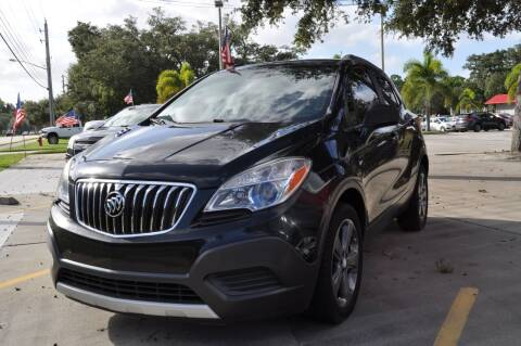 2013 Buick Encore for sale at STEPANEK'S AUTO SALES & SERVICE INC. in Vero Beach FL