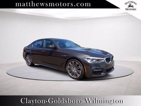 2018 BMW 5 Series for sale at Auto Finance of Raleigh in Raleigh NC