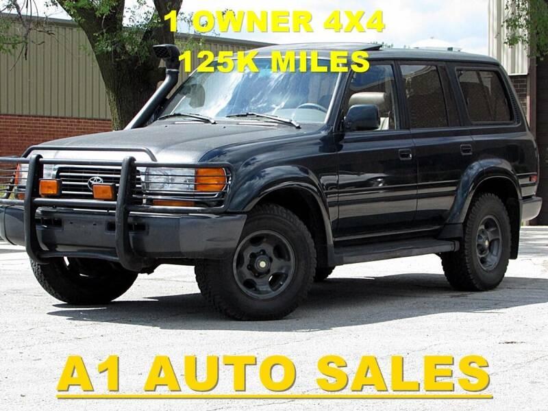 1995 Toyota Land Cruiser for sale at A1 Auto Sales in Burr Ridge IL