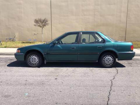 1992 Honda Accord for sale at HIGH-LINE MOTOR SPORTS in Brea CA