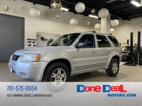 2004 Ford Escape for sale at DONE DEAL MOTORS in Canton MA