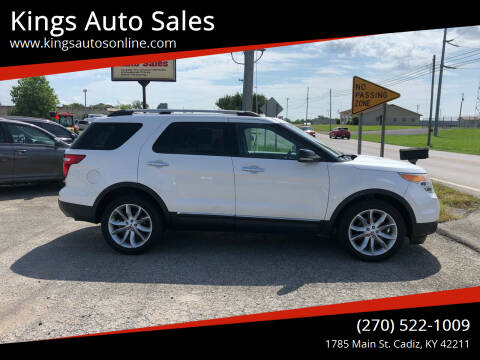 2011 Ford Explorer for sale at Kings Auto Sales in Cadiz KY
