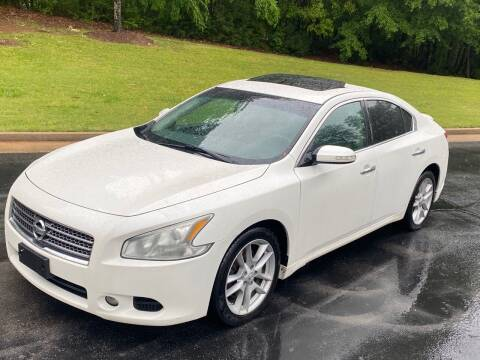 2011 Nissan Maxima for sale at Top Notch Luxury Motors in Decatur GA