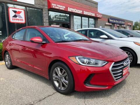 2017 Hyundai Elantra for sale at AutoCredit SuperStore in Lowell MA