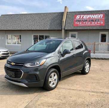 2017 Chevrolet Trax for sale at Stephen Motor Sales LLC in Caldwell OH