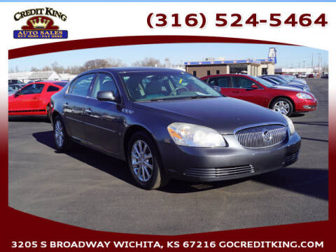 2009 Buick Lucerne for sale at Credit King Auto Sales in Wichita KS