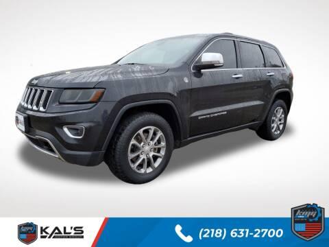 2014 Jeep Grand Cherokee for sale at Kal's Kars - SUVS in Wadena MN