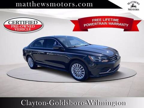 2017 Volkswagen Passat for sale at Auto Finance of Raleigh in Raleigh NC