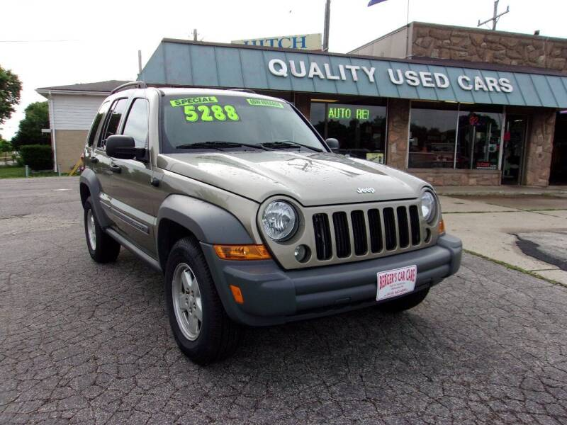 2005 Jeep Liberty for sale at BERGER'S CAR CARE in Milwaukee WI