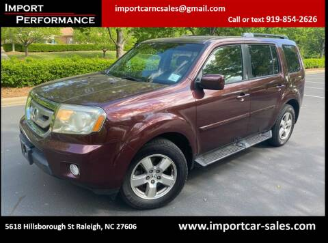 2011 Honda Pilot for sale at Import Performance Sales in Raleigh NC
