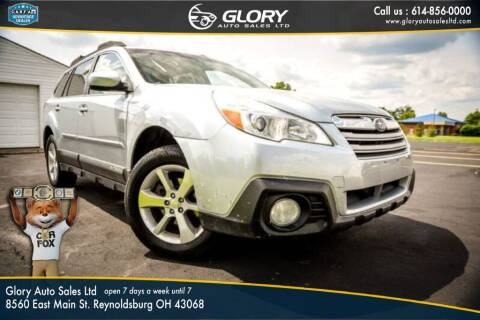 2013 Subaru Outback for sale at Glory Auto Sales LTD in Reynoldsburg OH