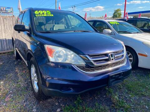 2010 Honda CR-V for sale at GRAND USED CARS  INC in Little Ferry NJ