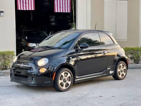 2015 FIAT 500e for sale at AUTOSPORT MOTORS in Lake Park FL