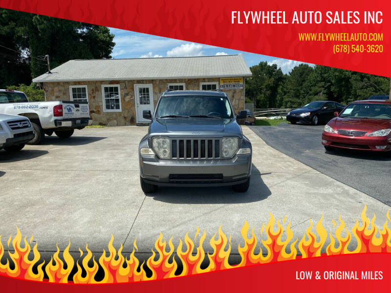2012 Jeep Liberty for sale at Flywheel Auto Sales Inc in Woodstock GA