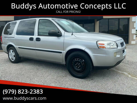 2006 Chevrolet Uplander for sale at Buddys Automotive Concepts LLC in Bryan TX