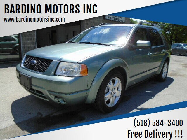 2007 Ford Freestyle for sale at BARDINO MOTORS INC in Saratoga Springs NY