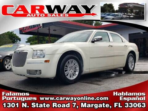 2010 Chrysler 300 for sale at CARWAY Auto Sales in Margate FL