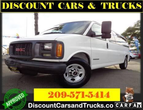2000 GMC Savana Passenger for sale at Discount Cars & Trucks in Modesto CA