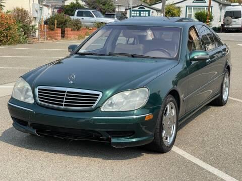 2001 Mercedes-Benz S-Class for sale at JENIN MOTORS in Hayward CA