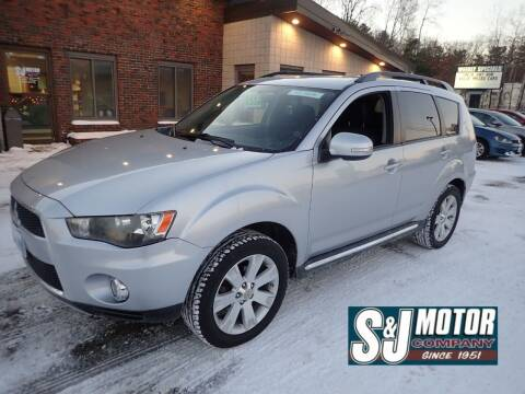 2012 Mitsubishi Outlander for sale at S & J Motor Co Inc. in Merrimack NH