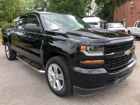 2018 Chevrolet Silverado 1500 for sale at Creekside Automotive in Lexington NC