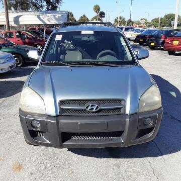 2006 Hyundai Tucson for sale at Easy Credit Auto Sales in Cocoa FL