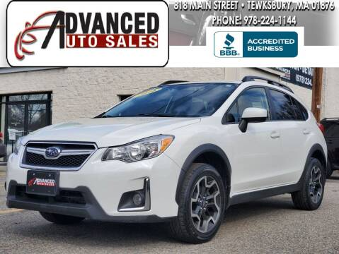 2016 Subaru Crosstrek for sale at Advanced Auto Sales in Tewksbury MA