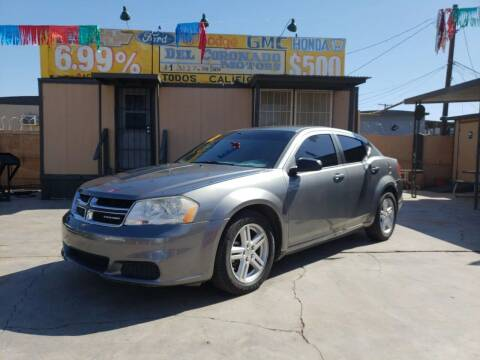 2012 Dodge Avenger for sale at DEL CORONADO MOTORS in Phoenix AZ