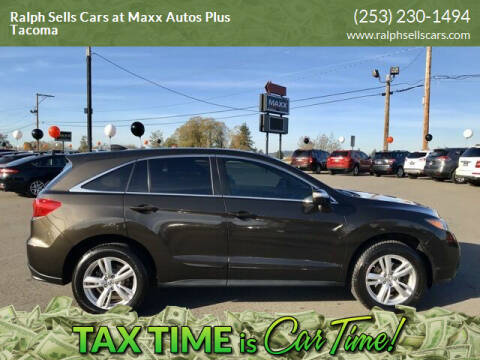 2014 Acura RDX for sale at Ralph Sells Cars at Maxx Autos Plus Tacoma in Tacoma WA