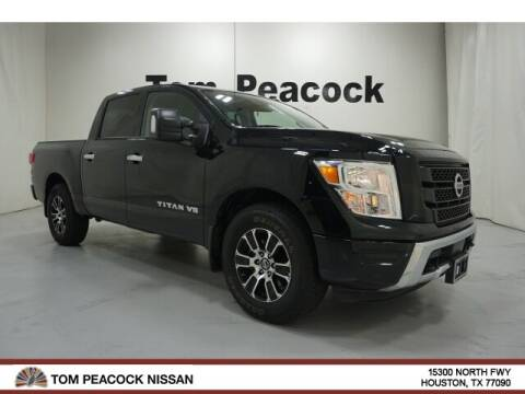 2020 Nissan Titan for sale at Tom Peacock Nissan (i45used.com) in Houston TX